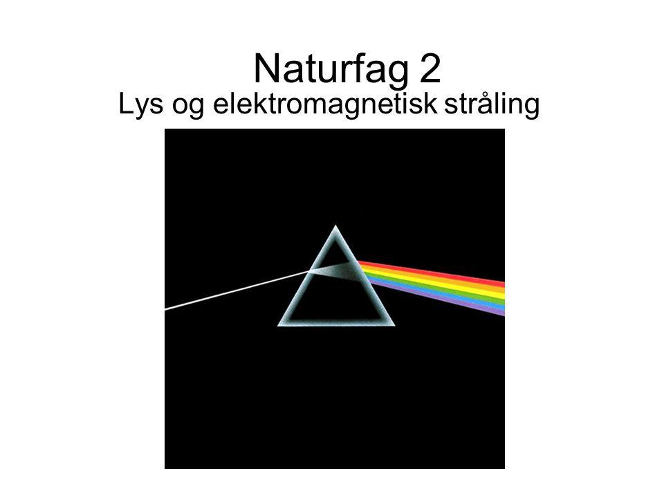 Naturfag 2 Lys og elektromagnetisk stråling