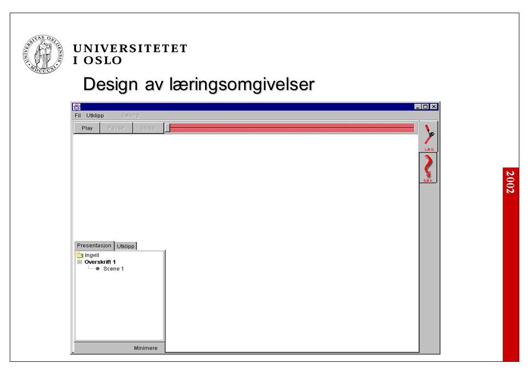 Design av læringsomgivelser