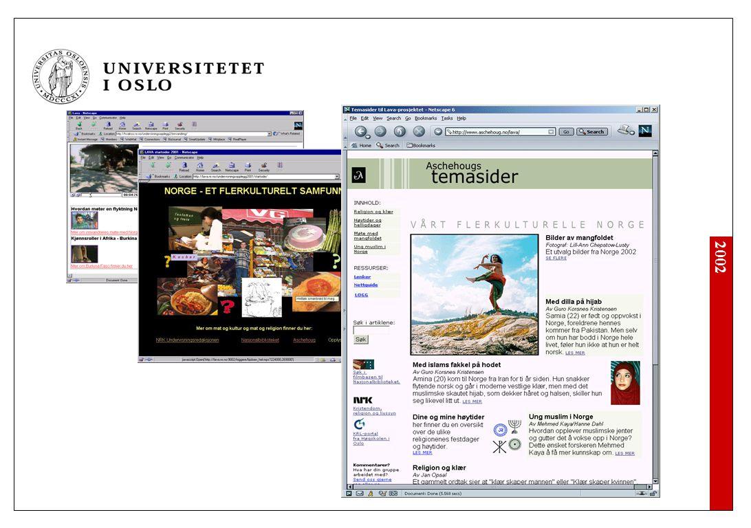 2002 Oppsummering Elever foran skjerm.
