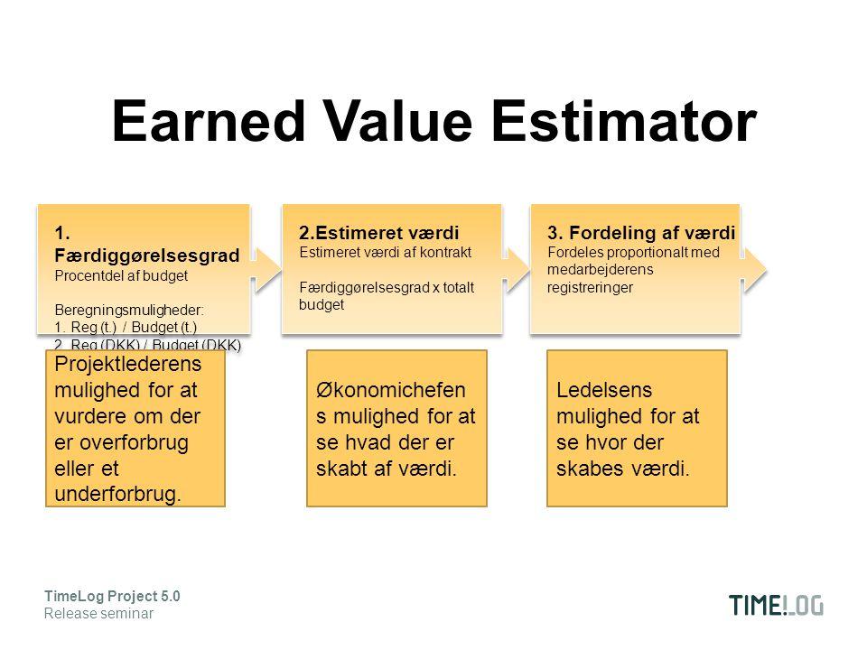 3. Fordeling af værdi Fordeles proportionalt med medarbejderens registreringer 3.