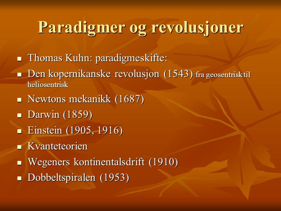 Naturvitenskap og sunn fornuft I tried to understand, but common sense kept coming in my way.