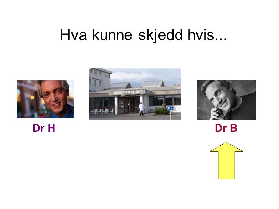 Hva kunne skjedd hvis... Dr HDr B