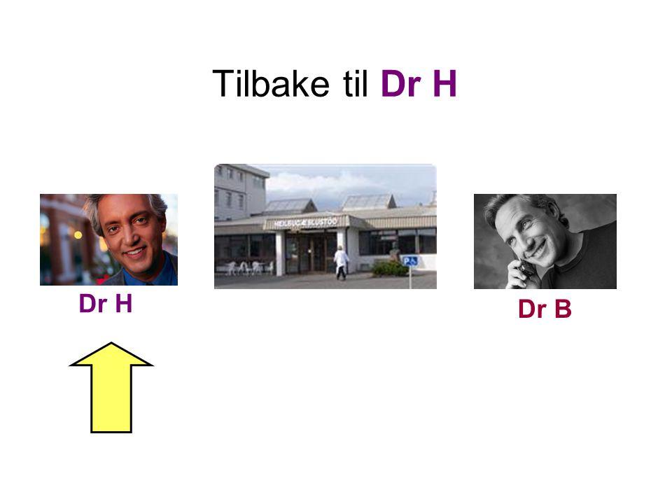Tilbake til Dr H Dr H Dr B