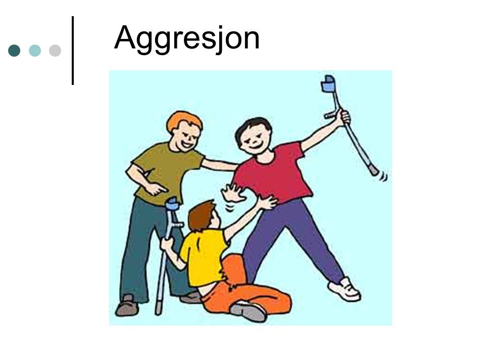 Håndtering – reaktiv aggresjon Redusere frustrasjonsfaktorer.
