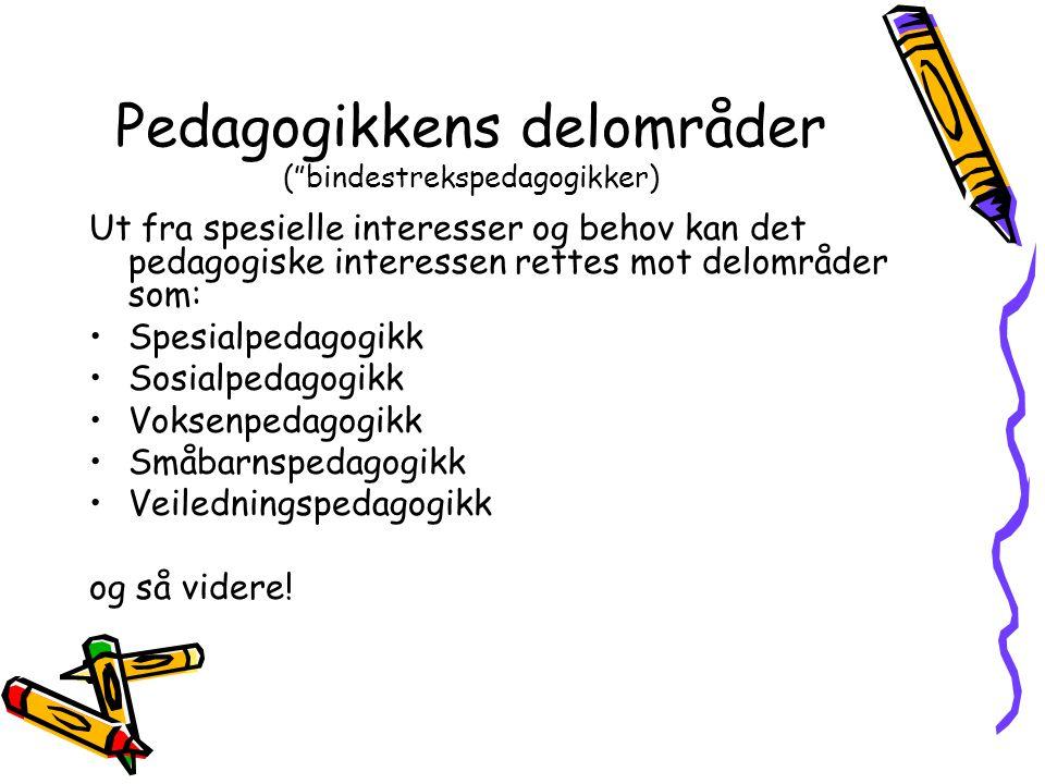 Hva er didaktikk.I faget pedagogikk i en lærerutdanning er didaktikk et integrerende perspektiv.