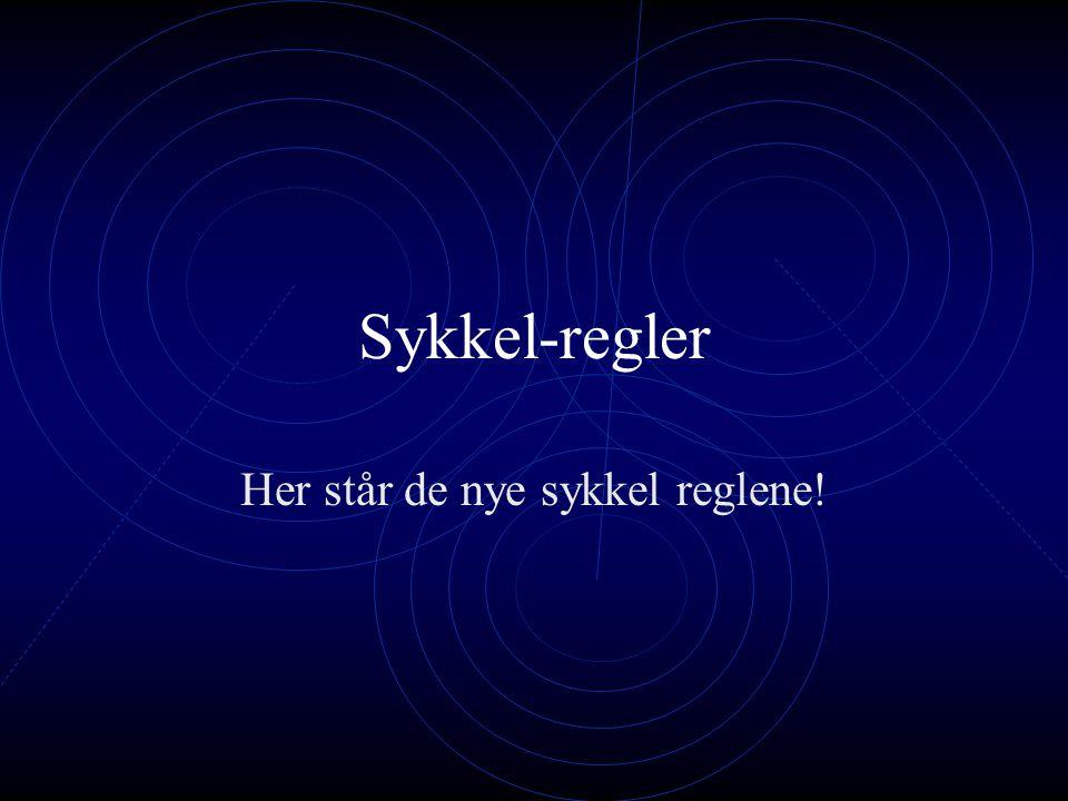 Prosjekt sykkel Laget av: Kamilla M Sofie Synne