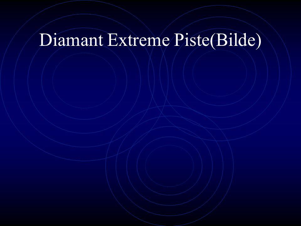 Diamant Extreme Piste Topp utstyr, en lett ramme og skrive hjul sikrer maksimalfremdrift for kreftene dine.