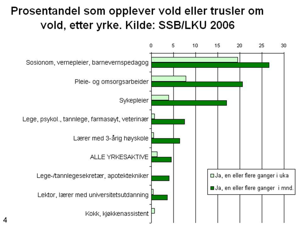 Betydningen for arbeidsmiljøet Trygghet Trivsel Tjenestekvalitet 5