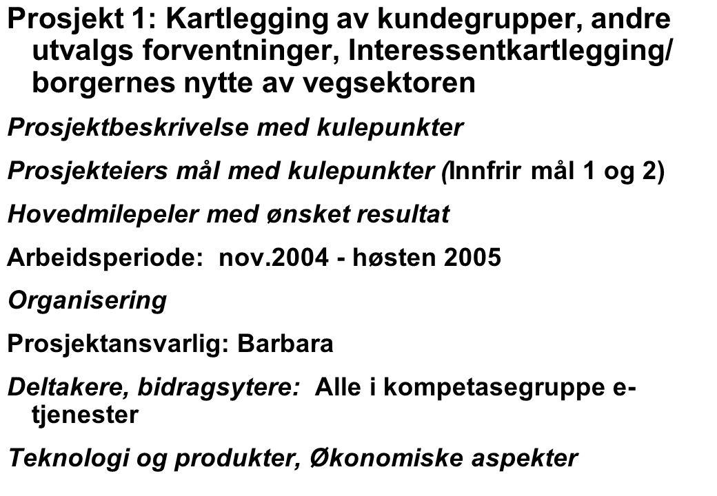 Rev 2003 Nordisk Vejteknisk Forbund NVF-11: Informationsteknologi 6 Prosjekt 2: Digital forvaltning Prosjektbeskrivelse med kulepunkter Prosjekteiers mål med kulepunkter (Innfrir mål 1, 2 og 3) Hovedmilepeler med ønsket resultat Arbeidsperiode: 2006, 2007 Organisering Prosjektansvarlig/deltakere: hele e-tjenestegruppen Deltakere: Alle i kompetasegruppe e-tjenester Teknologi og produkter Økonomiske aspekter