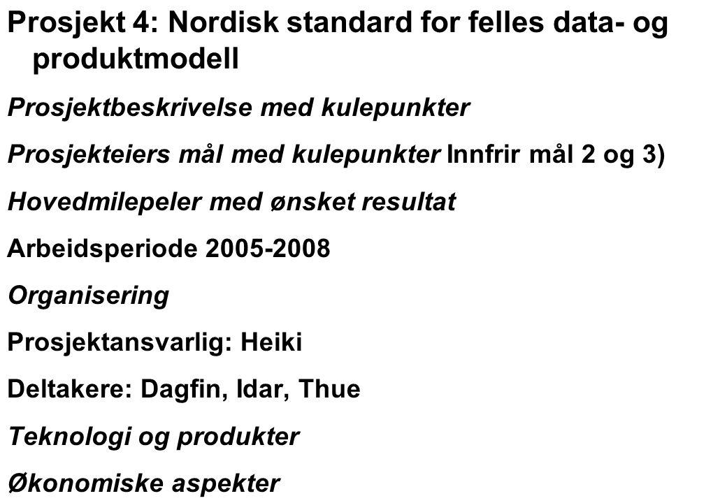 Rev 2003 Nordisk Vejteknisk Forbund NVF-11: Informationsteknologi 19 Teknologi og produkter Kobling mot NVF11.org Servertilknytning Drift Muligheter for innlegging og ajourhold for hver enkelt I forhold til redaktøransvaret