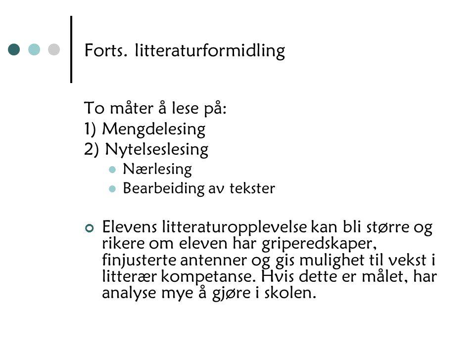 LK06 (utdrag) LK06 Kompetansemål etter 7.