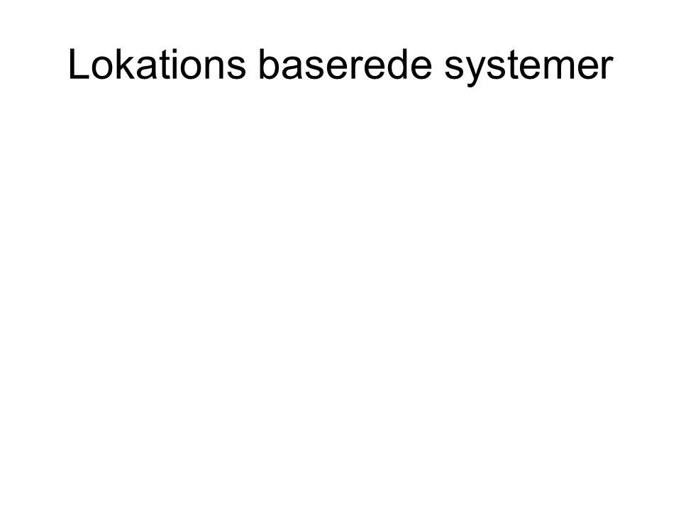 Lokations baserede systemer