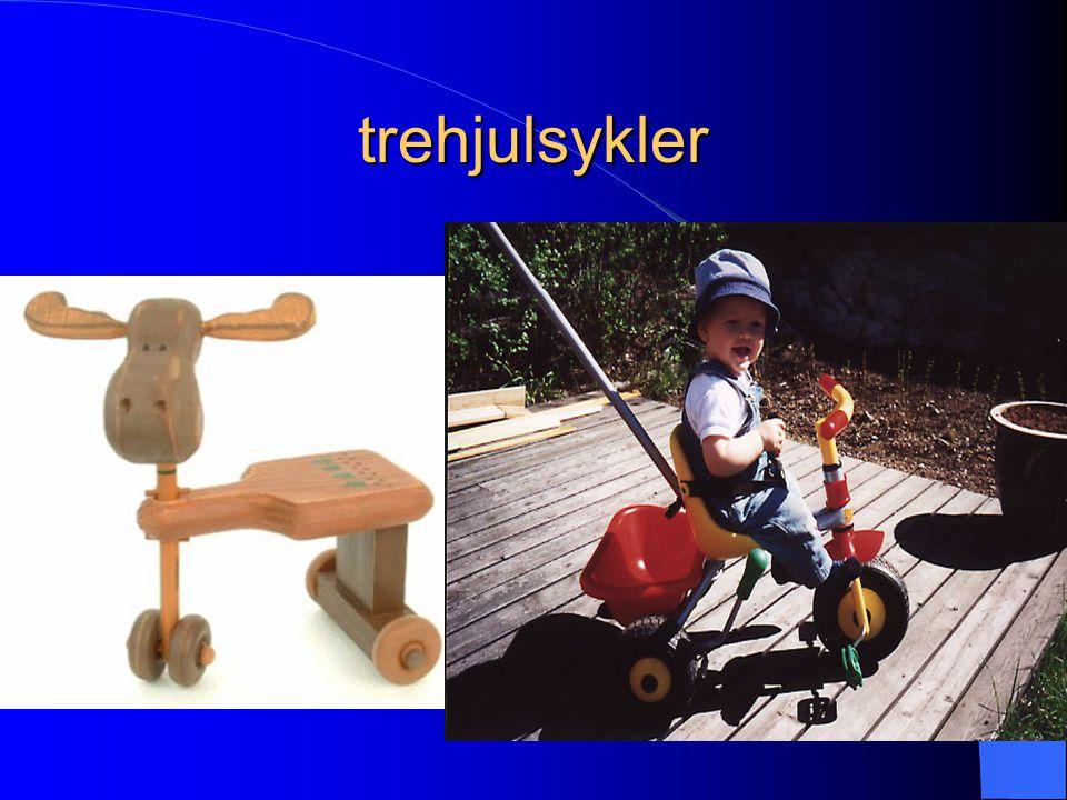 trehjulsykler