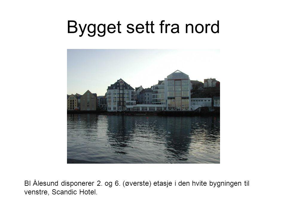 Bygget sett fra nord BI Ålesund disponerer 2. og 6.