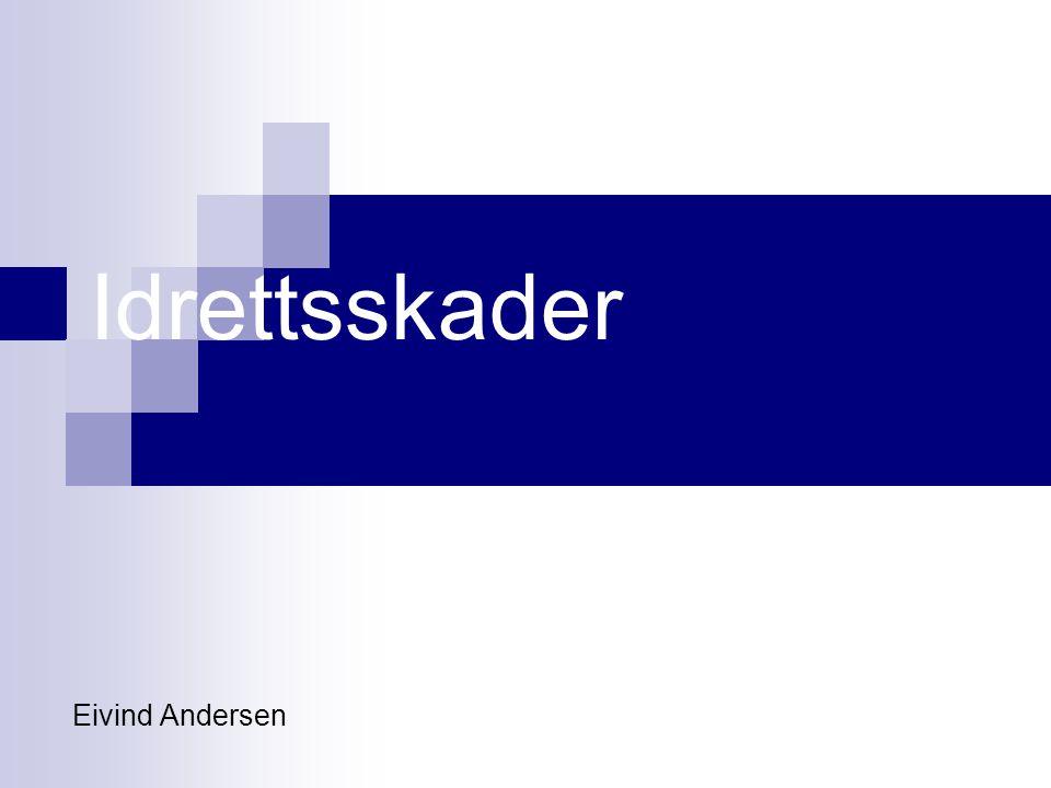 Idrettsskader Eivind Andersen