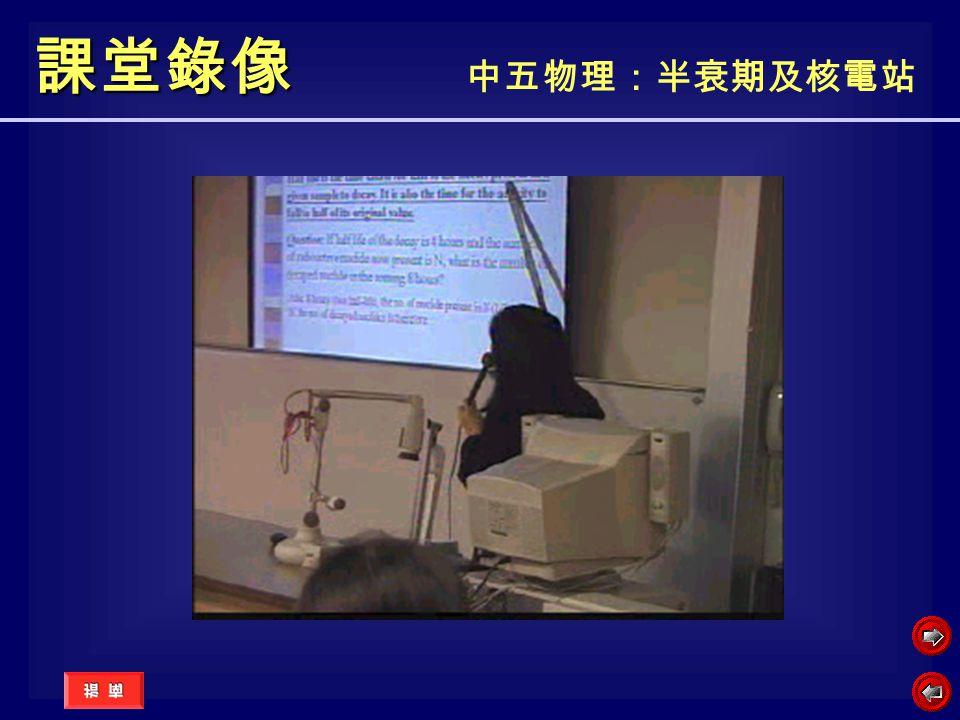 課堂錄像 課堂錄像 中五物理:半衰期及核電站