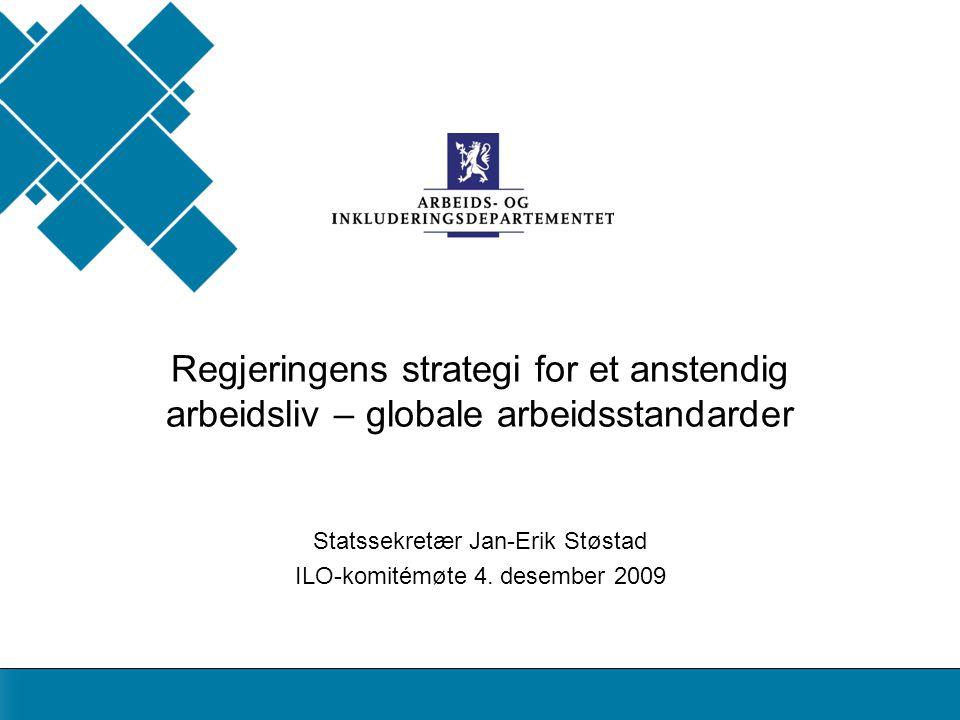 AID standard Statssekretær Jan-Erik Støstad ILO-komitémøte 4.