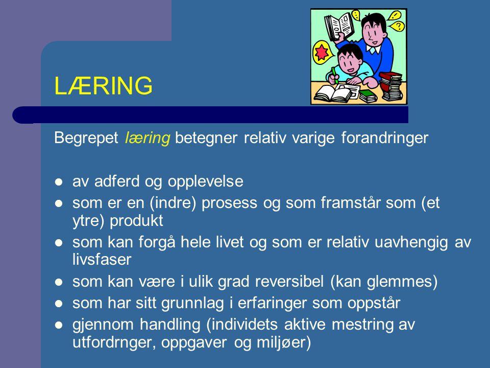 KLASSIFISERING 1: LUKKETE OG ÅPNE FERDIGHETER (Schmidt & Wrisberg, 2000, s.