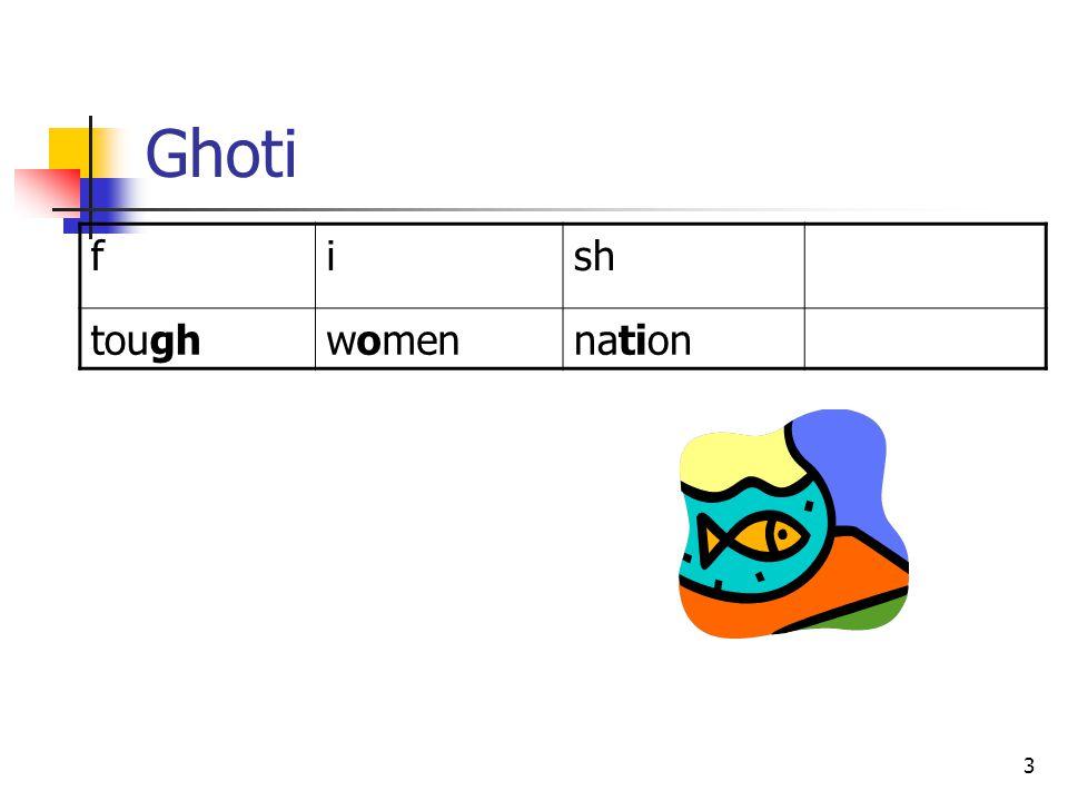 3 Ghoti fish toughwomennation