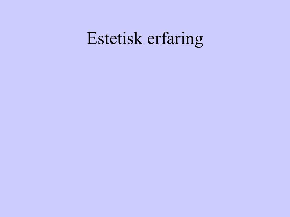 Estetisk erfaring