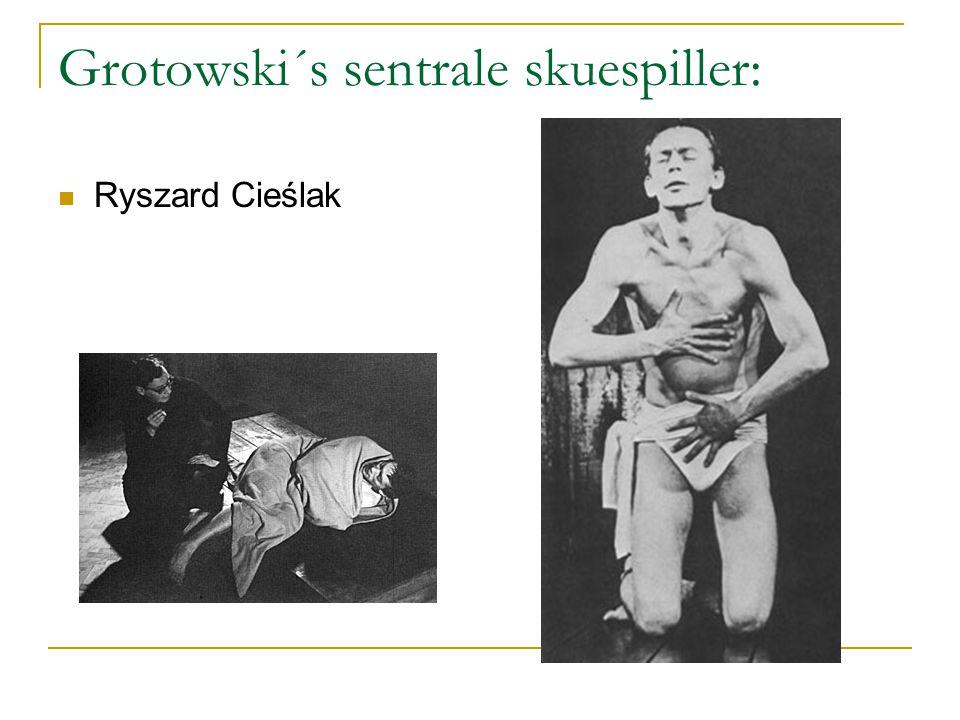 Grotowski´s sentrale skuespiller: Ryszard Cieślak