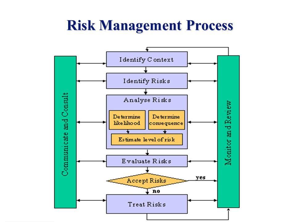 5 Risk Management Process Risk Management Process