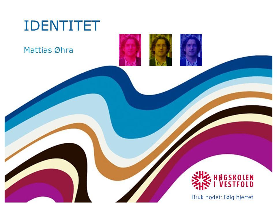 Definisjon på identitet Hva er identitet.