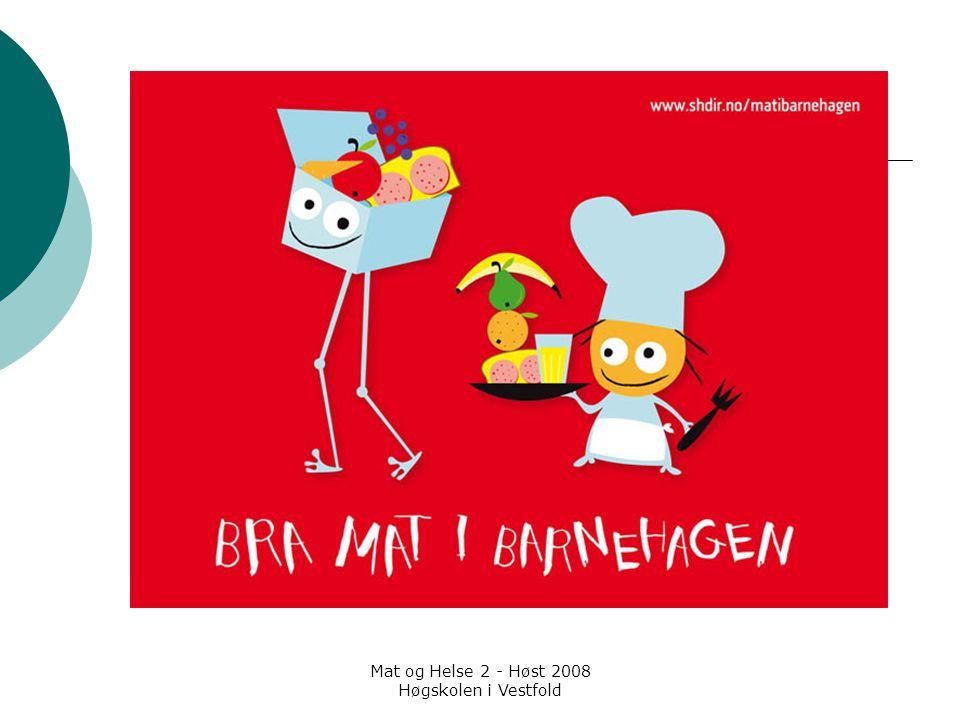 Mat og Helse 2 - Høst 2008 Høgskolen i Vestfold Hold rå og ferdiglaget mat atskilt  Bytt redskap mellom forskjellige råvarer, og mellom råvarer og ferdiglaget mat.