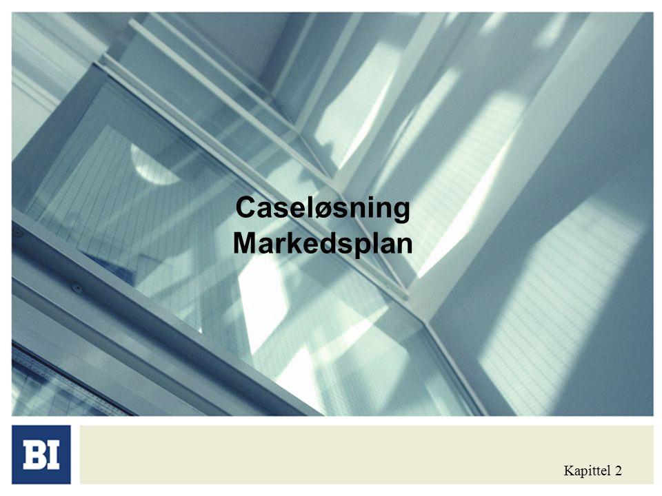 Caseløsning Markedsplan Kapittel 2
