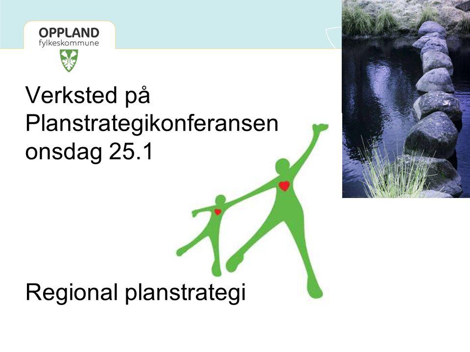Skisse: Regional planstrategi 2012-2016