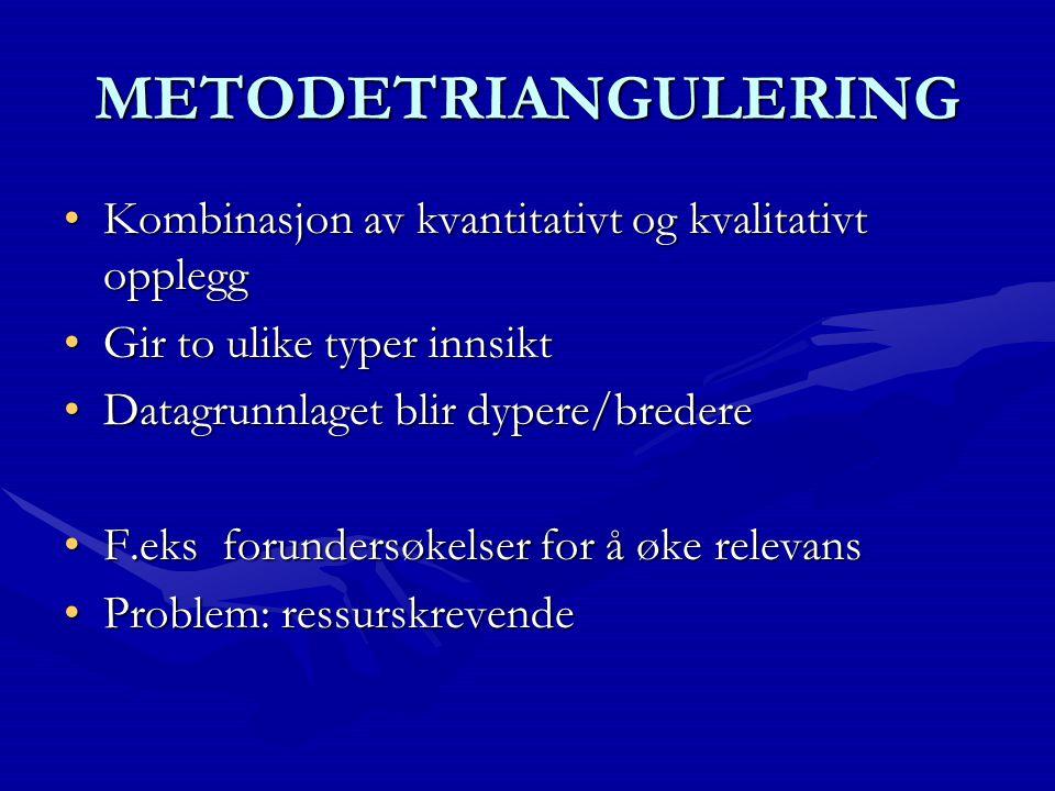 PROBLEMSTILLING Utforming av problemstillingen: 1.T ematisk 2.S pørsmål 3.H ypotese NB.