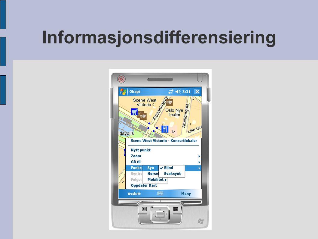 Informasjonsdifferensiering