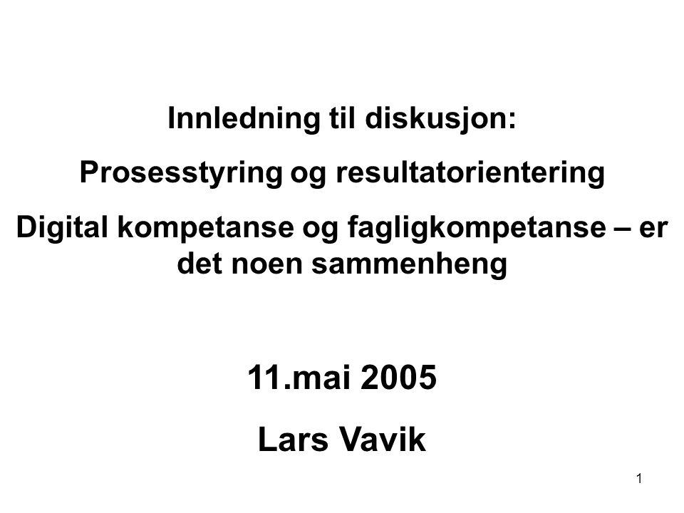 2 Litteratur Eyvind Elstad Om Prosessstyring og Resultatorientering i Utdanningspolitikken Norsk Pedagogisk Tidskrift nr.