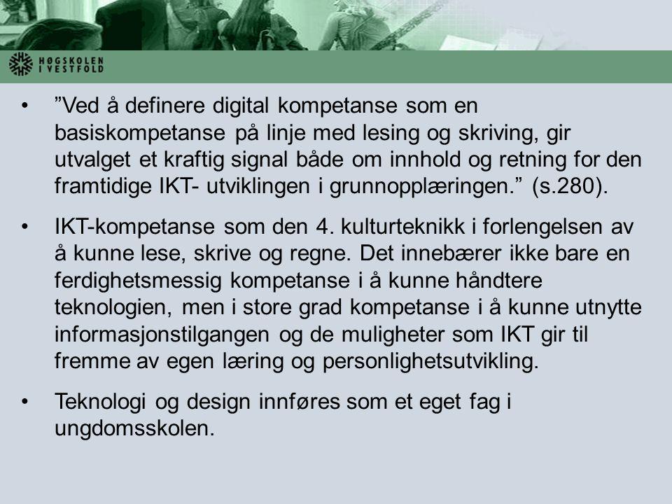 Teknologi og design innføres som et eget fag i ungdomsskolen.