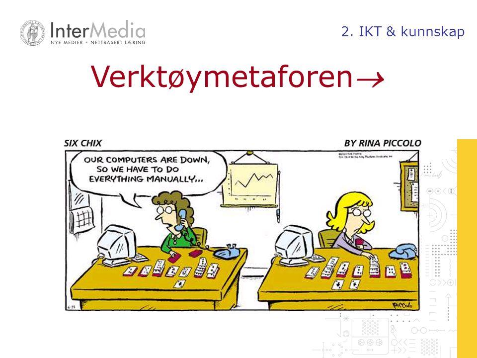 Verktøymetaforen 2. IKT & kunnskap