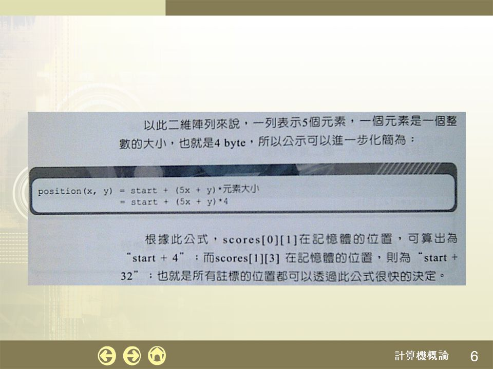 計算機概論 6