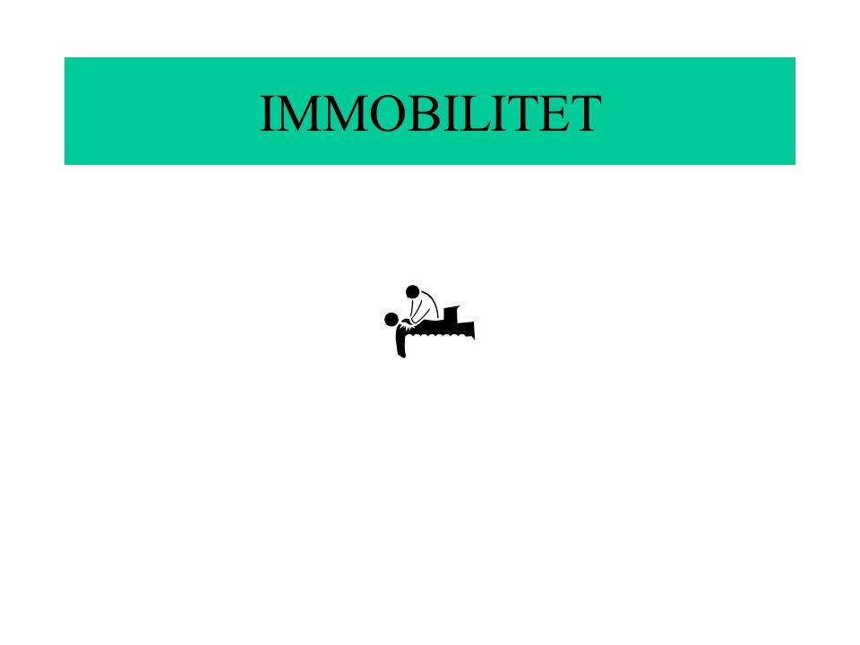 IMMOBILITET