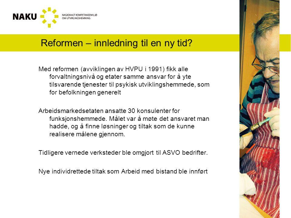 Reformen – innledning til en ny tid.