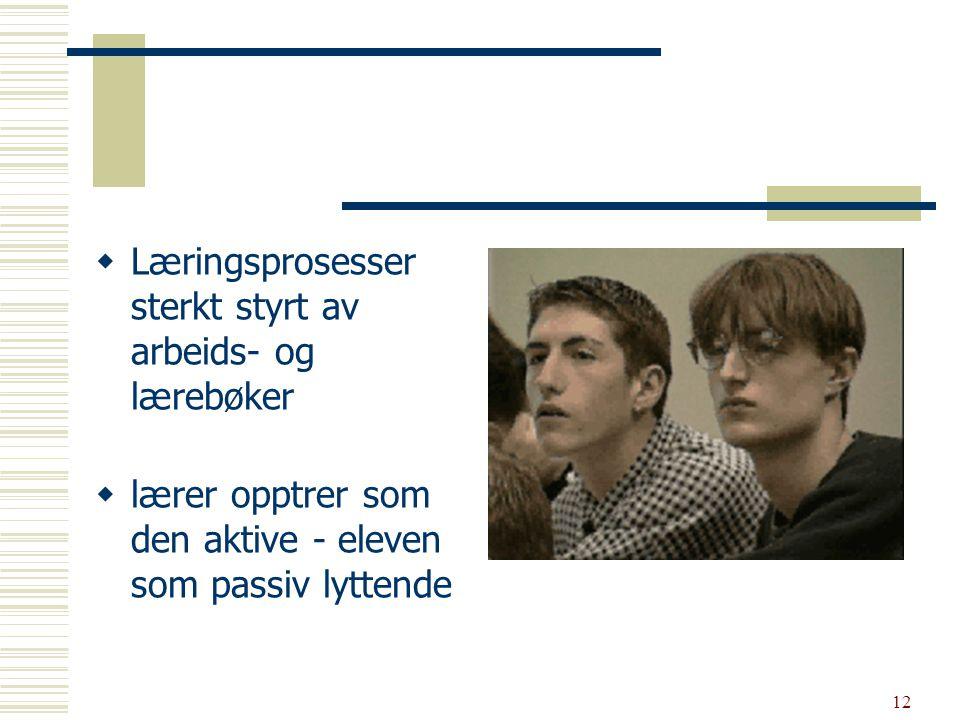13 U ngdomsskolen Tre års kjedsomhet E ntydige forskningsresultater fra elevenes vurderinger av undervisningen (Grepperud G.
