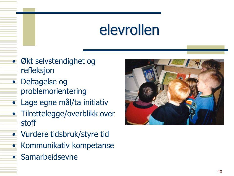 41  IKT inngår i situasjoner hvor læring, arbeid, lek skal være likeverdige elementer  IKT kan bli en kreativ kontekst og ramme for læringsprosesser I K T