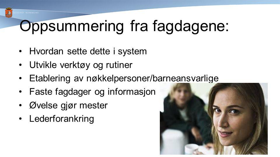 Videre arbeid i 2012/13: Vedtak på ledernivå: Besluttet også å inkludere somatikken.
