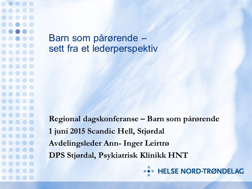 Hanne Bjørnå sine arbeidsoppgaver: Barnas time Lederteam VOV team Kontroll/påminnelsesrolle Samhandling med kommunene.