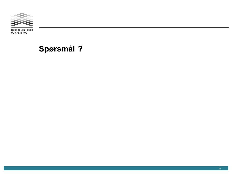 Spørsmål 14