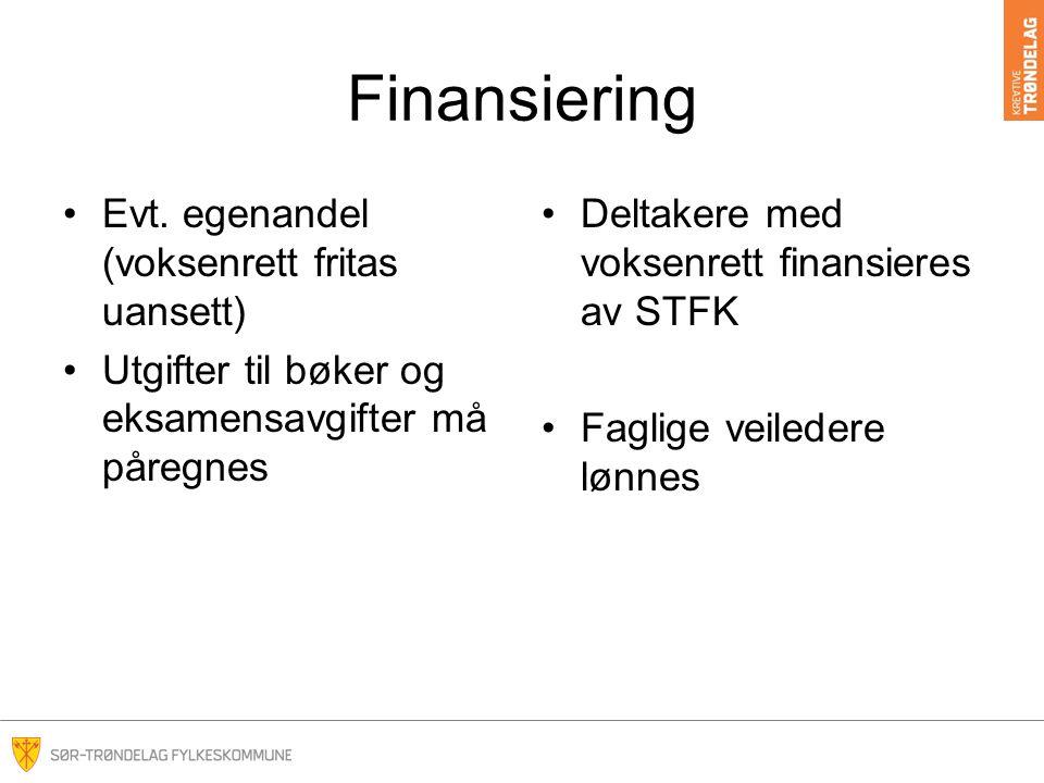 Finansiering Evt.