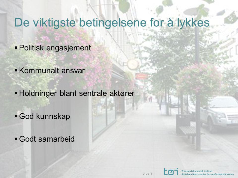 Side Hva hemmer at sentrum blir en mer attraktiv etableringsarena.