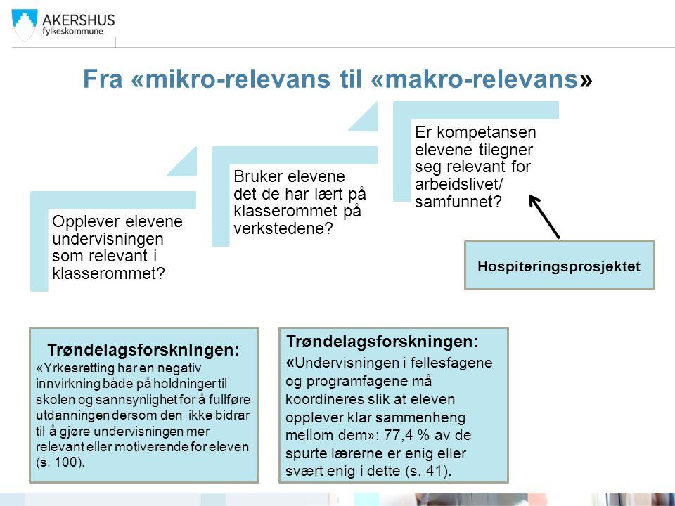 Andre interessante funn i forskning Trøndelag Forskning og Utvikling, rapport 2014:16