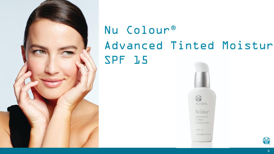 5 Nu Colour ® Advanced Tinted Moisturizer SPF 15