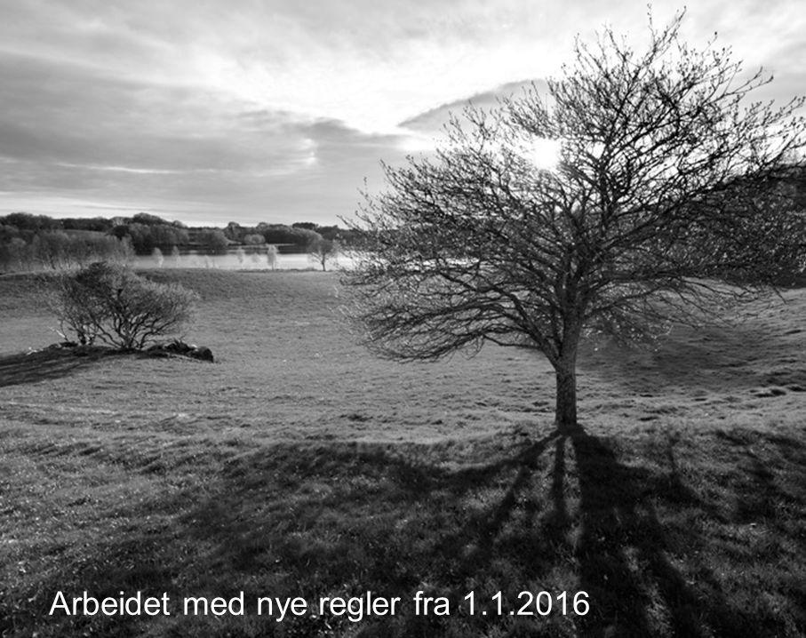 9 Arbeidet med nye regler fra 1.1.2016