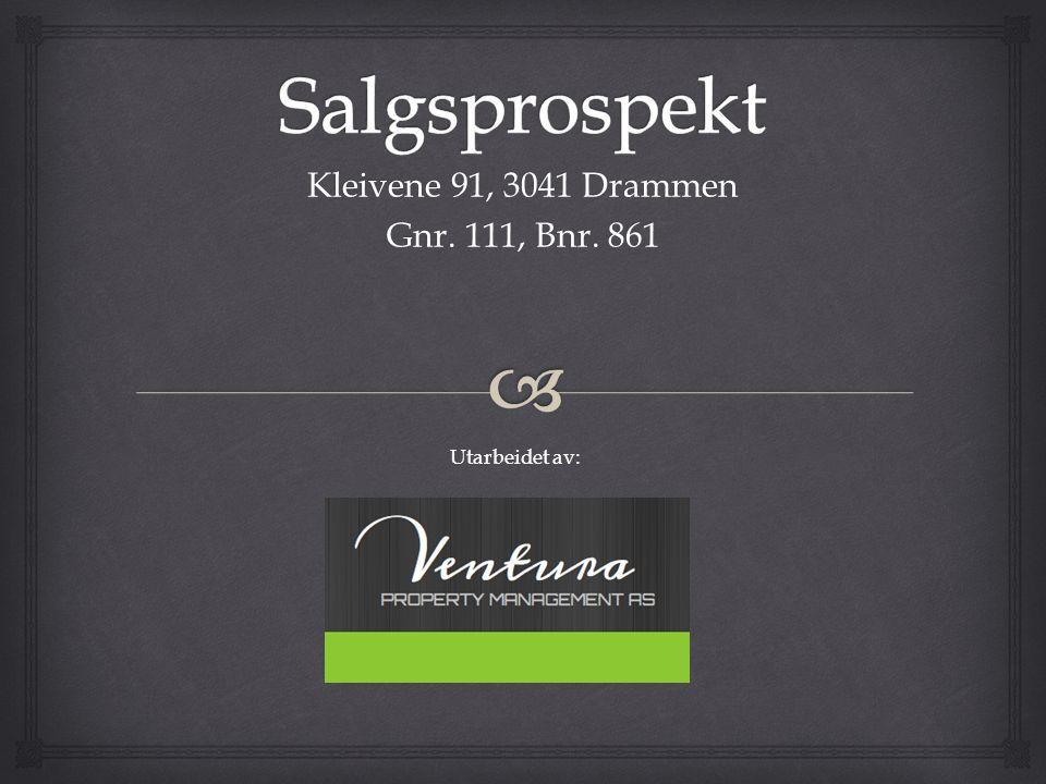Kleivene 91, 3041 Drammen Gnr. 111, Bnr. 861 Utarbeidet av: