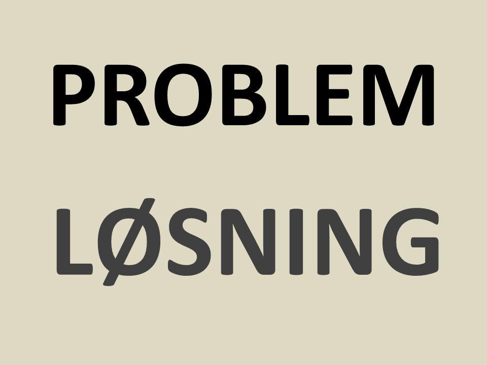 PROBLEM LØSNING